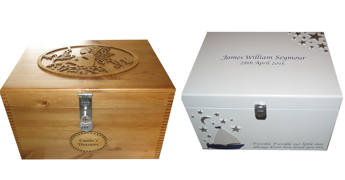 Baby Gift Keepsake Box Sets For Boy Or Girl