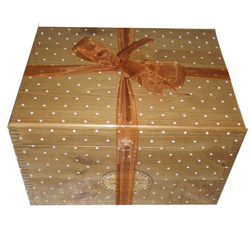 Lockable Xl Student Pine Storage Boxes With Plain Acrylic