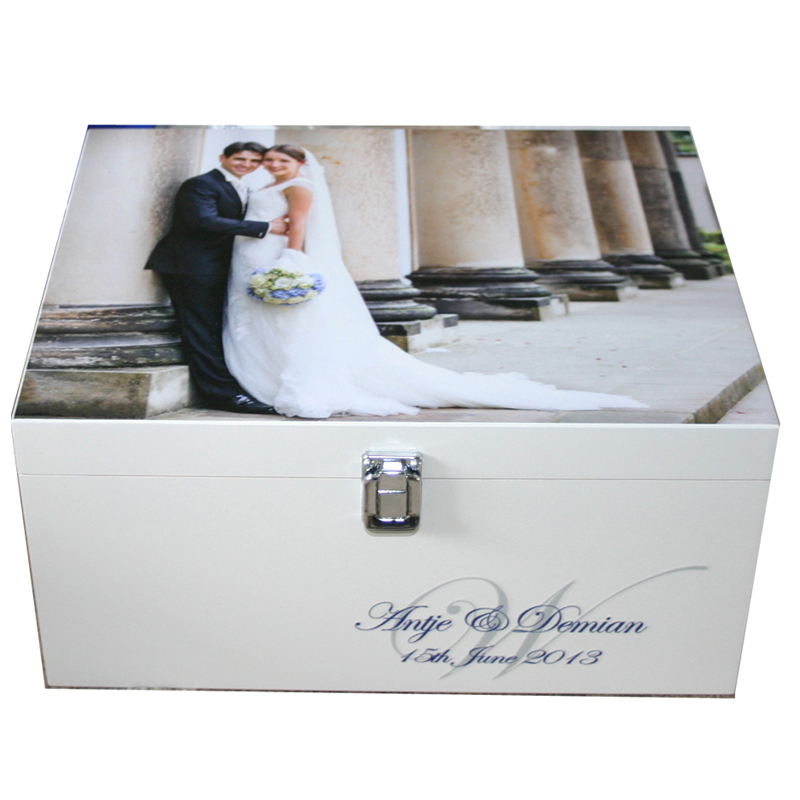Wedding Preservation Boxes: Musical Gift Of Large Personalised Wooden Memory Storage