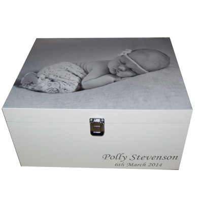 Baby Photo on a Box