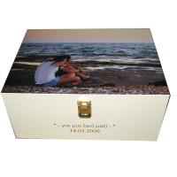 Ivory Keepsake Box - Photobox