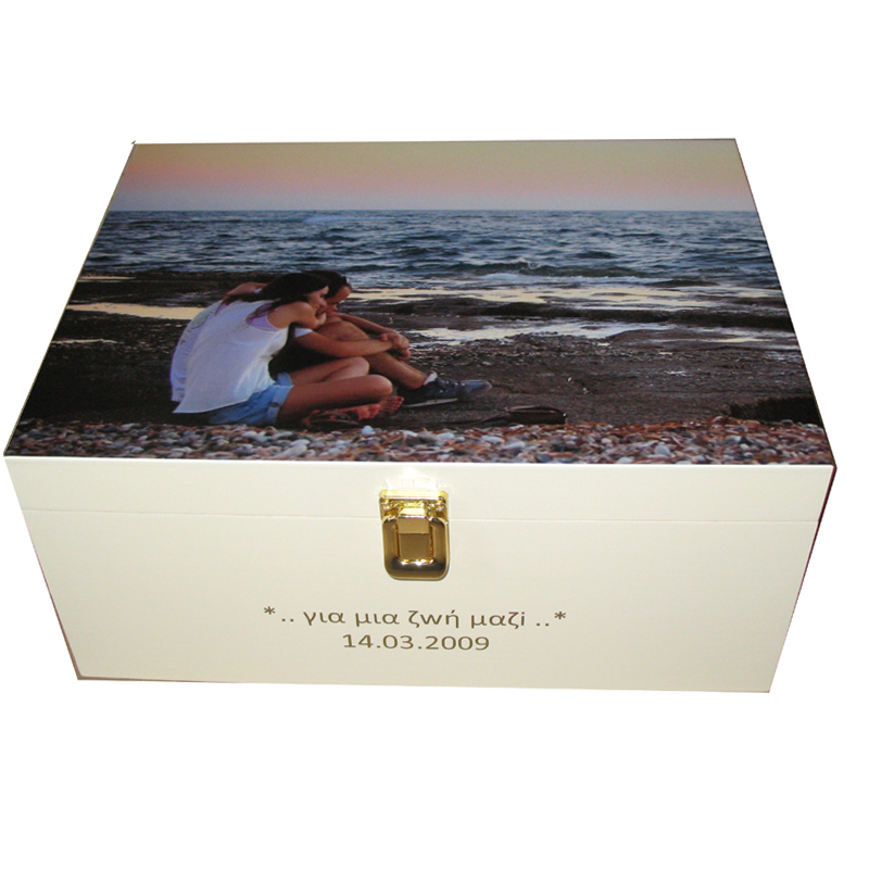 Ivory Keepsake Box - Photobox