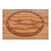 Treasures Plaque