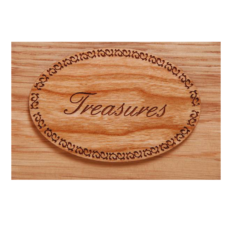 Treasures Plaque