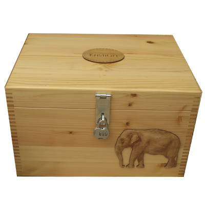 Pine M Natural with Elephant XL