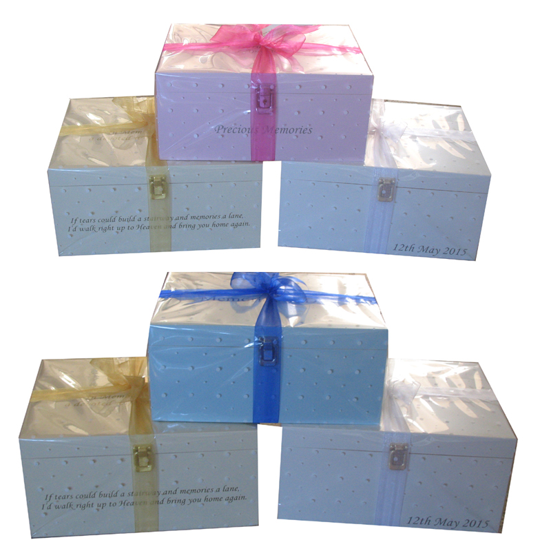FREE Gift Wrapped Keepsake Boxes