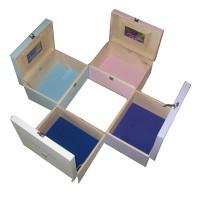 Keepsake Boxes with felt colours