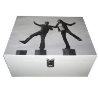 White Box with Couple