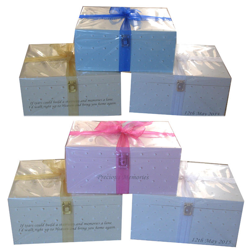 Gift Wrapped Keepsake Boxes