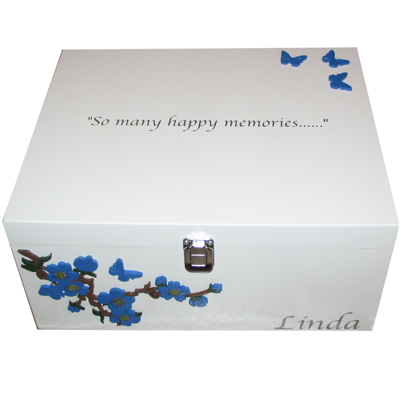 Adults and Childrens Keepsake Boxes