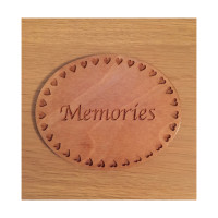 Hearts border for nameplate