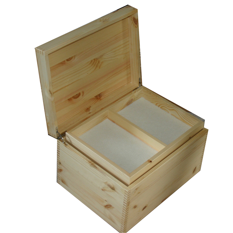 Acrylic Trinket Boxes : Photo on acrylic wooden wedding keepsake box