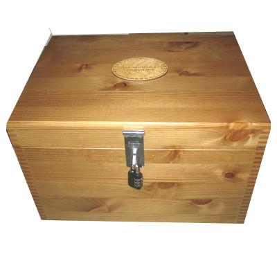 Rustic Pine Storage Box Small Toy Box