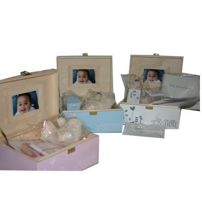 Baby Gift Keepsake Box Sets for Boy or Girl