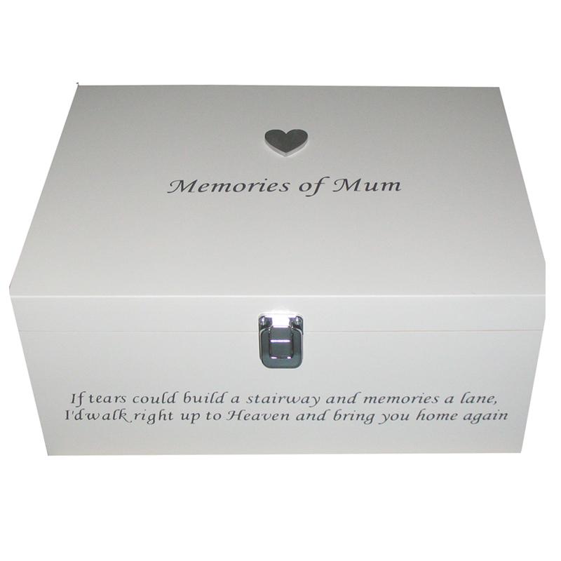 Memories of .....Bereavement Memory Box