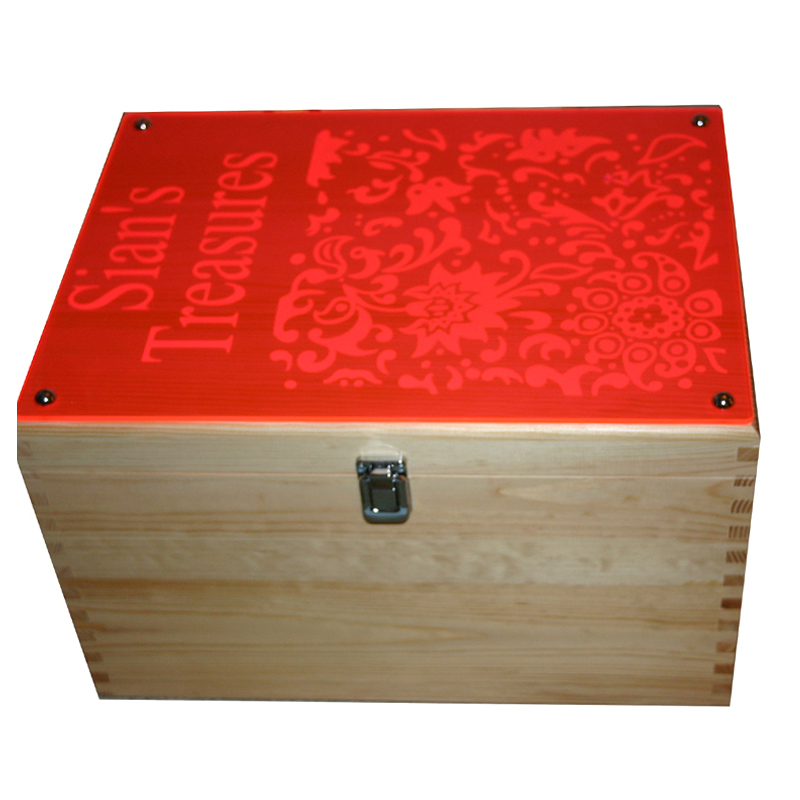 Modern Funky XL Storage Boxes with Acrylic