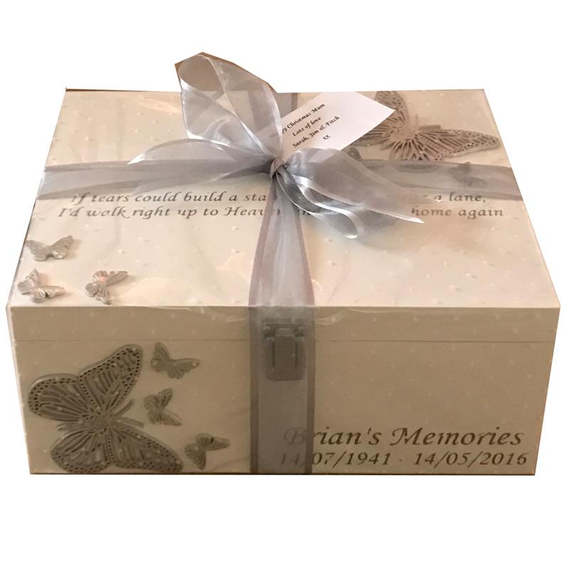 Bereavement Memory Box Gift Wrapped