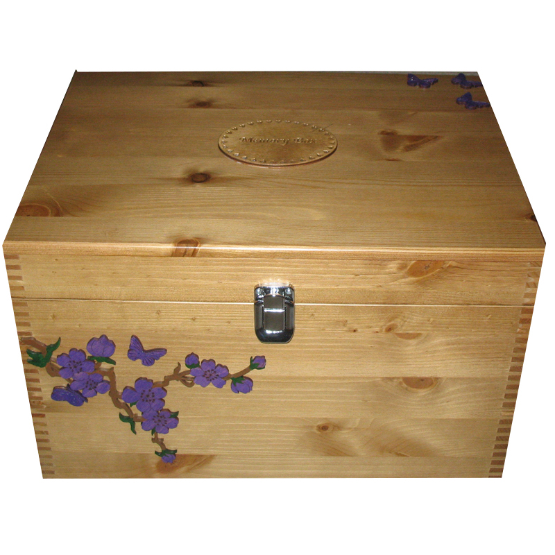 Decorative Boxes Uk Delectable Extra Large Personalised Decorative Wooden Boxes Wash Of Paint On Decorating Inspiration