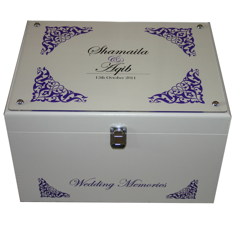 Decorative XL Wedding Keepsake Boxes With Acrylic Pattern And Frame Impressive Decorative Keepsake Memory Boxes