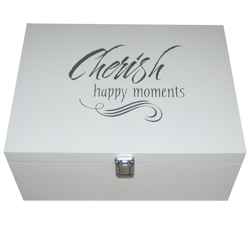 Keepsake or Memory Boxes with Sayings & Quotes
