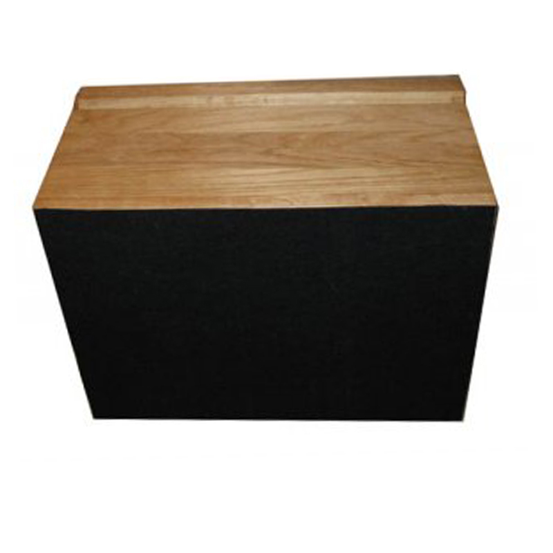 Black Felt Baize on underside of Oak memory Box