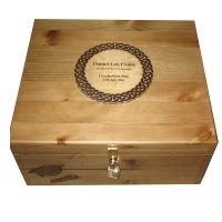 Rustic Large Graduation Keepsake Box Personalised