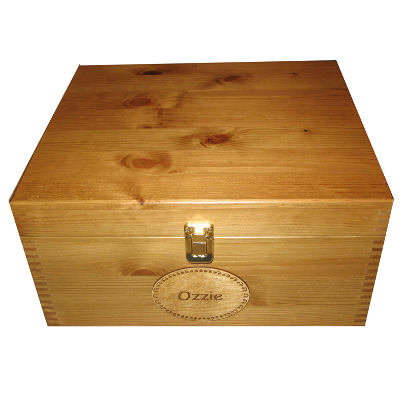 Musical Memory Box Personalised with Music Box