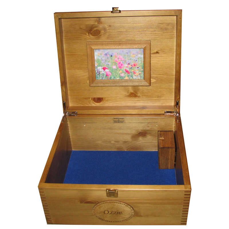 Musical Memory Keepsake Boxes Large Personalised Music Box