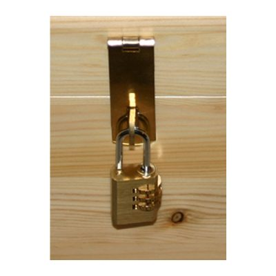 Brass Hasp & Staple/combination padlock
