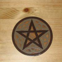 Pentagram Painted Close Up