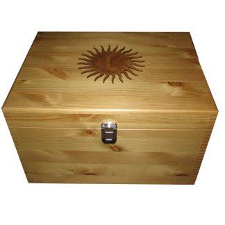 Decorative Sun Extra Large Keepsake Box Wooden Personalised Boxes