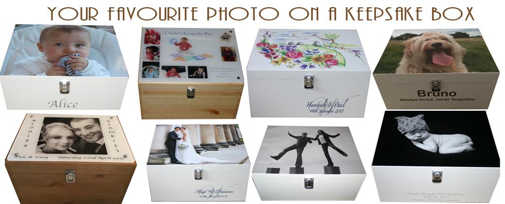 Photo on a Keepsake Box