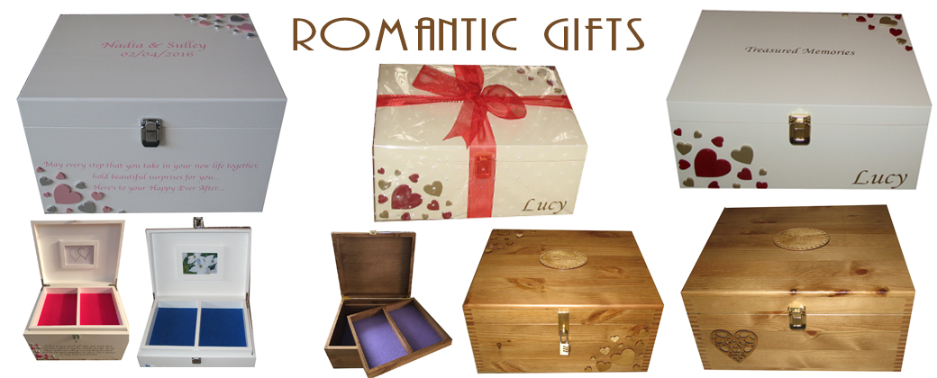 Romantic Personalised Gifts