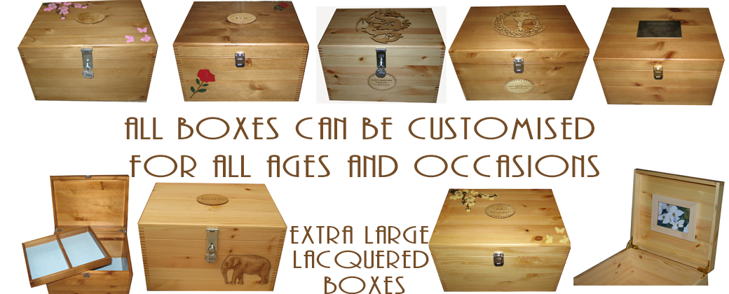 Extra Large Personalised Boxes